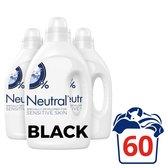 Neutral Zwart & Donker Parfumvrij Wasmiddel - 3 x 20 wasbeurten - Voordeelverpakking