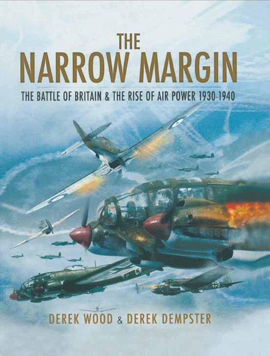 Boek cover The Narrow Margin van Derek Dempster (Onbekend)