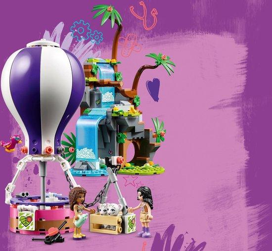 LEGO Friends Tijger Reddingsactie met Luchtballon in Jungle - 41423