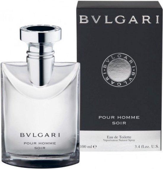 Bvlgari Pour Homme Soir - 100 ml - Eau De Toilette - Bvlgari