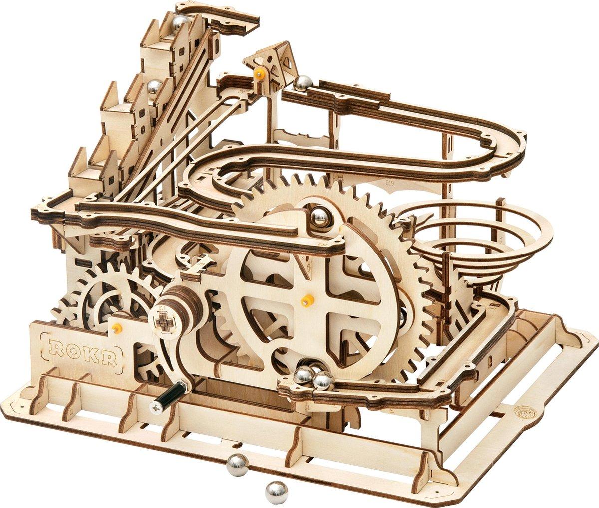 Robotime - Knikkerbaan - Marble Parkour - DIY - 3D - Houten Modelbouw - LG501