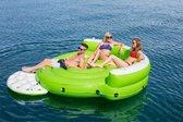 Bestway Hydro-Force Opblaaseiland - Kick Back Lounge 275x255x65cm - Groen