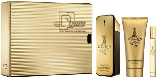 Paco Rabanne 1 Million Giftset 210ml