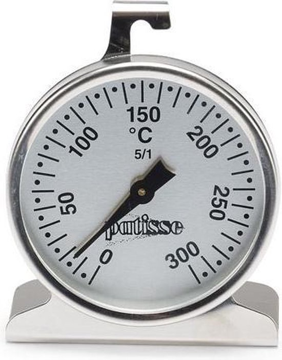 Patisse oventhermometer rvs 63mm - RVS