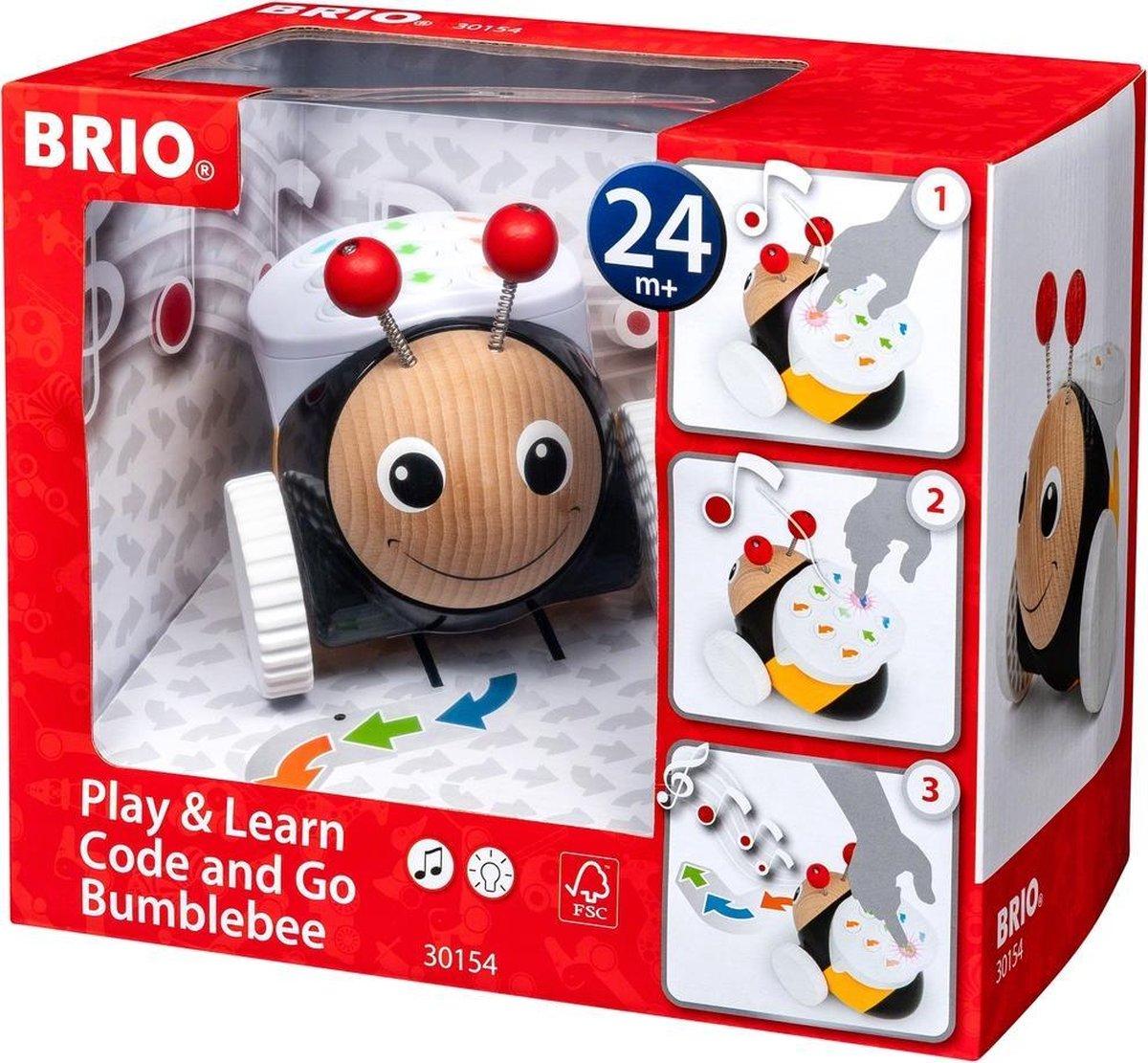 BRIO Code & Go Bij - 30154