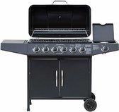 El Fuego Dayton 6.1 gasbarbecue - Gasbbq - 6 branders - 1 zijbrander