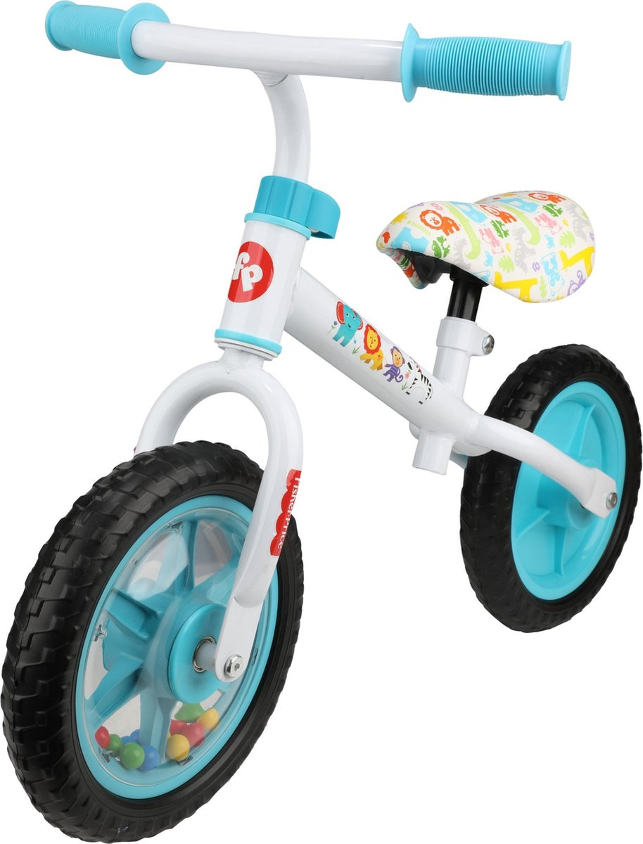 "Fisher-Price 10"" inch Loopfiets - Wit"