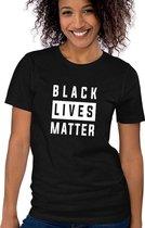 Sol's Black Lives Matter | BLM | George Floyd |  I Can't Breathe  | Stop Racisme | Movement | Dames T-shirt 3XL
