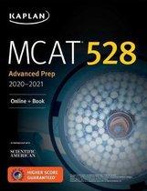Boek cover MCAT 528 Advanced Prep 2021aEURO 2022 van Kaplan Test Prep