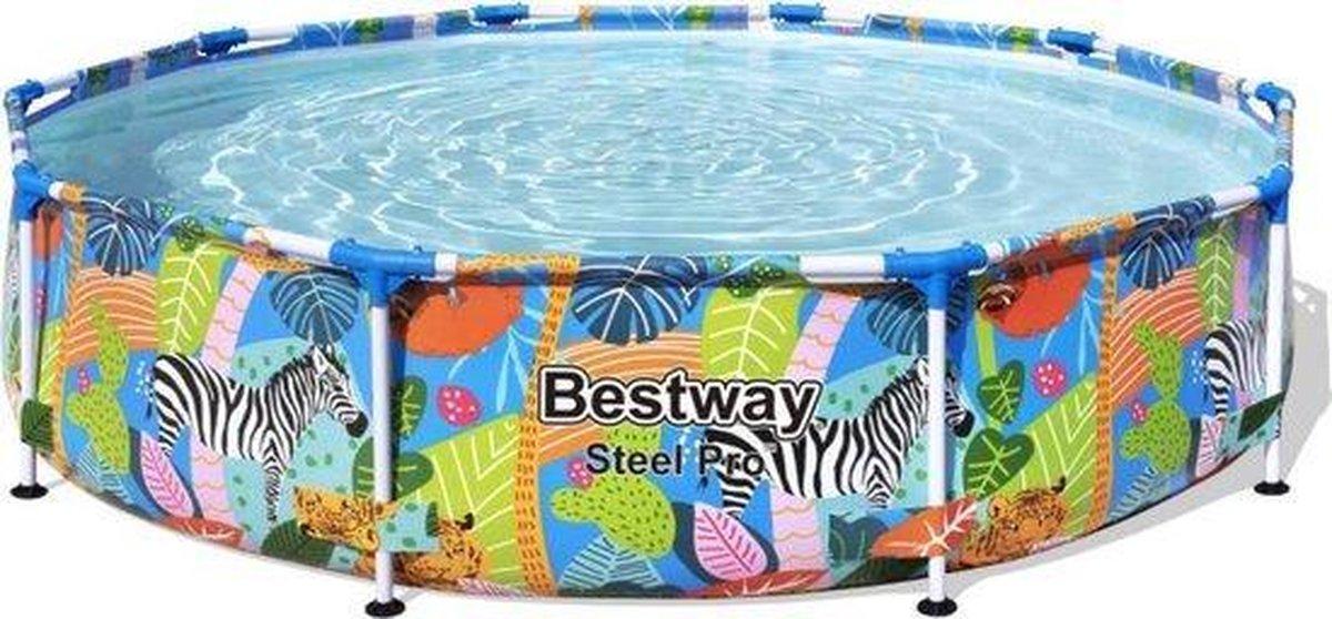 Bestway zwembad jungle motief 305 x 66 cm