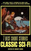 Boek cover 7 best short stories - Classic Sci-Fi van Jack London