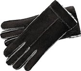 Roeckl Handschoenen Ziernaht auf der Oberhand 8.0 8.0 - zwart Leer - zwart