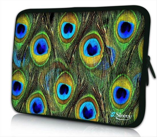 Laptop sleeve 14 inch pauwen patroon - Sleevy