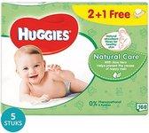 Huggies Billendoekjes Babydoekjes Natural Care 840st