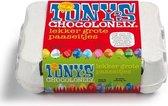 Tony's Chocolonely Paaseitjes - in 10 smaken - 1 x 12 stuks - 142 gram