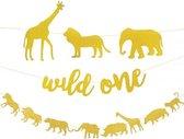 Jungle Slinger - Wild One - Jungle Dieren - Goud - 150cm