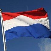 Nederlandse vlag 100 x 150 voor 2 meter vlaggensto