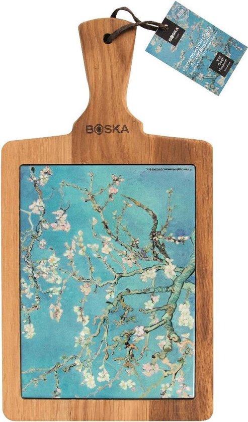 Boska Serveerplank Van Gogh - Kunst - Keramiek - Amandelbloesem - 24,5 cm