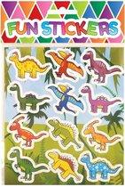 Stickers voor kinderen - stickervellen - Dino – Boerderij dieren - Jungle – Knutselen – 36 stuks