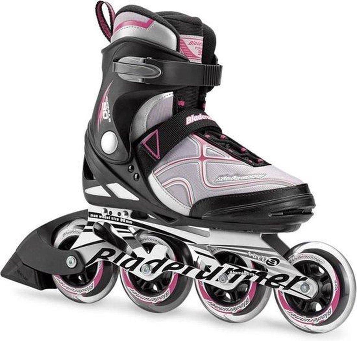 Bladerunner Formula 90 mm - maat 36,5 (US6) - skate dames - zwart paars