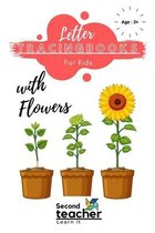 Letter Tracing Books for Kids with Flowers