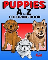 PUPPIES A to Z COLORING BOOK