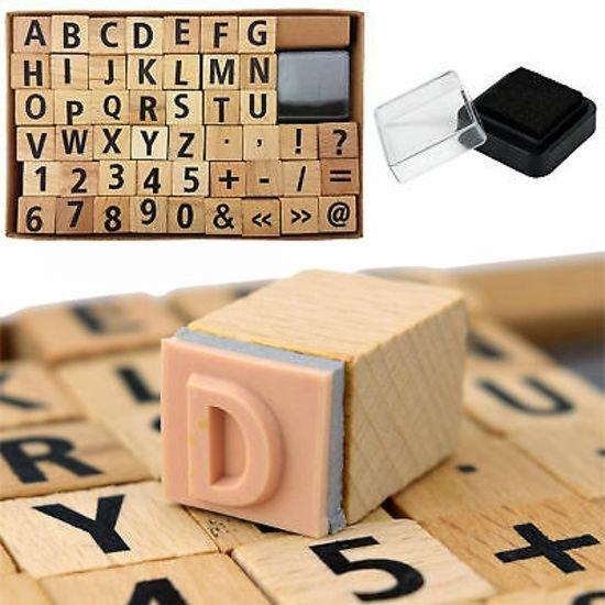 Stempelset Letters en Cijfers