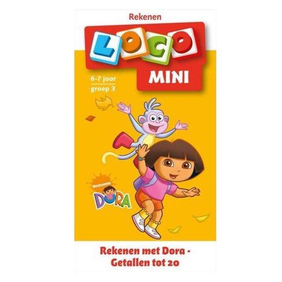 Mini Loco Rekenen met Dora Getallen tot 20 - M. Junga |