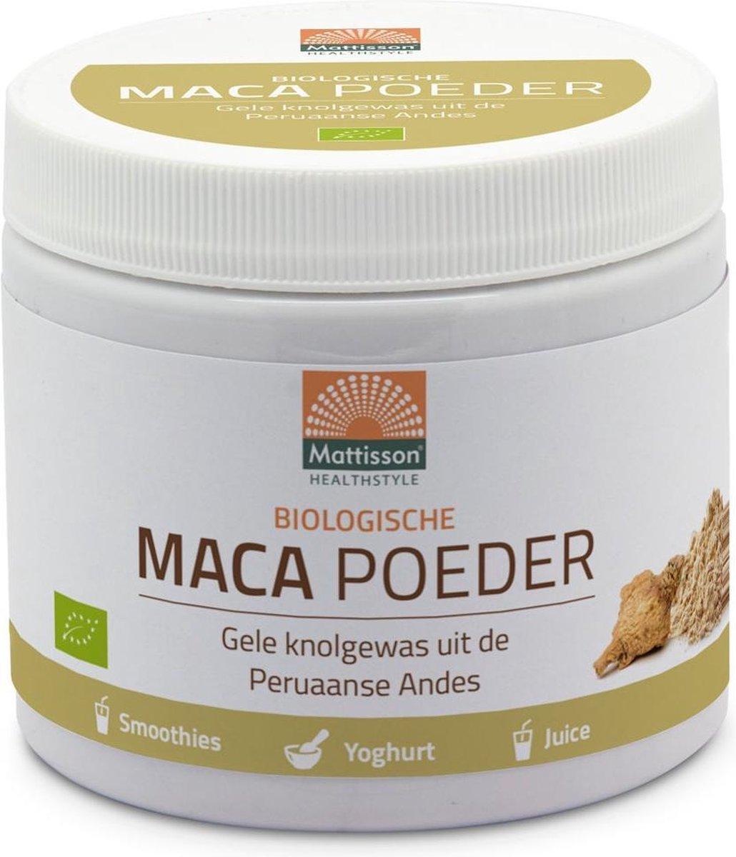 Mattisson - Active Maca Poeder - Biologisch