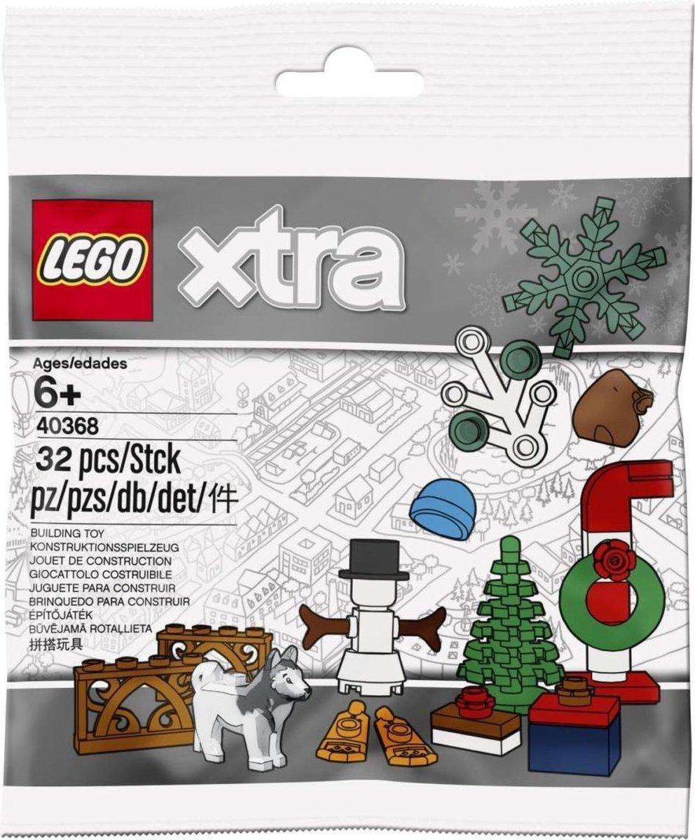 LEGO xtra 40368 Kerstaccessoires (polybag)