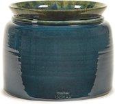 Serax Bloempot Reactive Blue Blauw-Donker Blauw D 25 cm H 21 cm