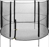 RoyalBeach - Trampolineveiligheidsnet - Net - Trampoline - Veiligheid - D396cm - 6 Palen