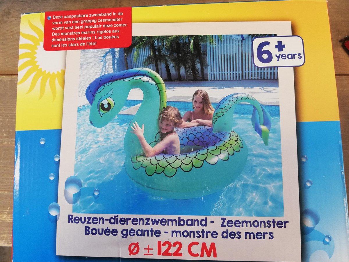 Zwemband - Reuze - Zeemonster - 122 cm