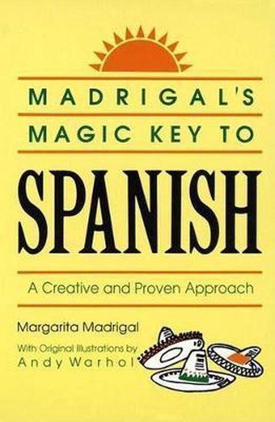 Boek cover Madrigals Magic Key to Spanish van Margarita Madrigal (Paperback)