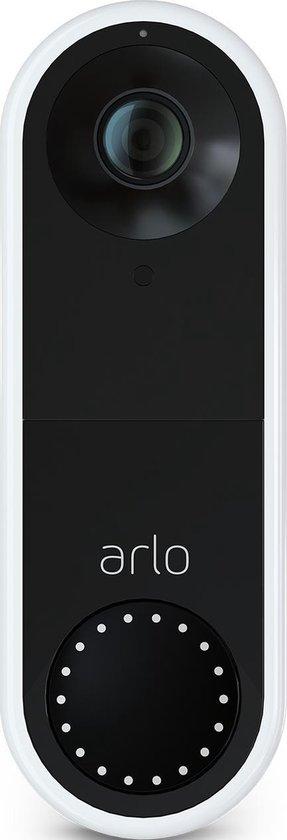 Arlo Wired Videodeurbel - Bedraad - 1080p HD video - Zwart wit