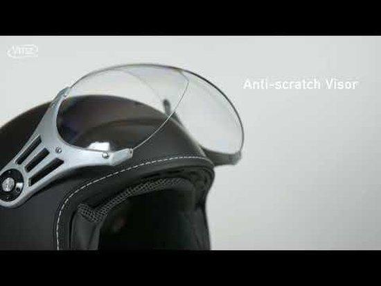 Vinz Stelvio - Mat Zwart - Small
