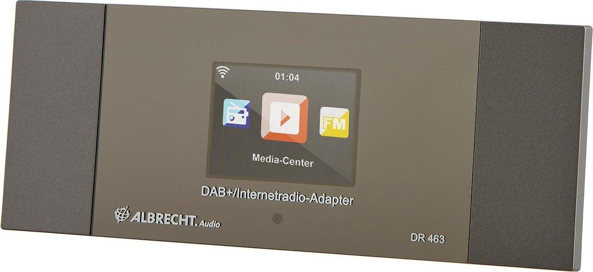 Albrecht DR 463 Internet - DAB+ radio adapter met Bluetooth en Spotify connect voor de HiFi installatie