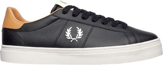 Fred Perry Sneakers - Maat 46 - Mannen - zwart/bruin/wit