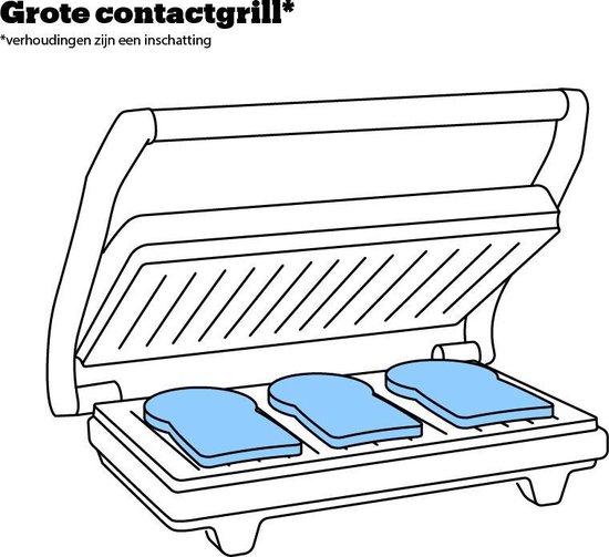 Tefal OptiGrill+ XL GC722D16 - Contactgrill