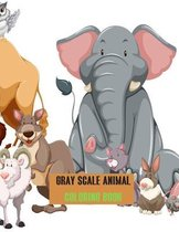 Gray scale Animal Coloring Book
