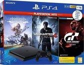 Sony PlayStation 4 Slim 1TB + Horizon: Zero Dawn + Uncharted 4 + GT Sport