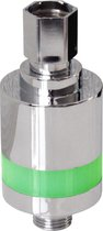 EcoSavers Shower Indicator - LED douchetijd indicator - geeft door middel van kleur douche tijd weer - douche timer