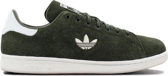 adidas Originals Stan Smith Premium - Heren Sneakers Casual schoenen  Sportschoenen Groen B37896 - Maat EU 41 1/3 UK 7.5