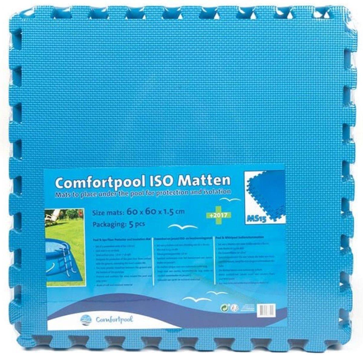 Comfortpool - Voordeelpakket - Zwembad tegels - 5 tegels - 60 x 60 cm - 1,8m²
