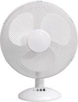Prem-I-Air tafelventilator 40 cm wit met 3 snelheden