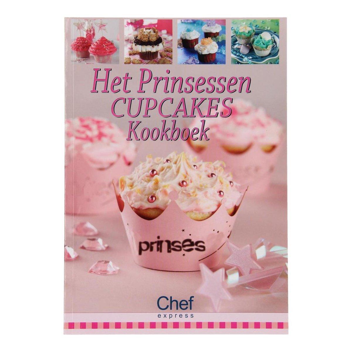 Het prinsessen cupcake kookboek