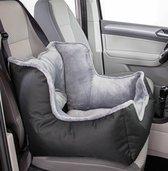 Autostoel voor honden - zwart/grijs - 50 × 50 × 40 cm