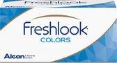 +4,50 - FreshLook® COLORS Hazel - 2 pack - Maandlenzen - Kleurlenzen - Hazel