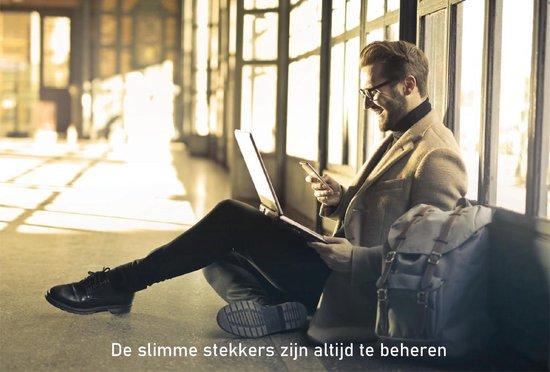 Apaga Smart Plug - Slimme Stekkers – Energiemeter - Werkt met Amazon Alexa en Google Home - Bestuur stekker via de app (Android of iOS) of via Voice Command – Nederlandse Handleiding – 2.4 GHz WIFI Stekker – WIFI Plug - (16A, WiFi)