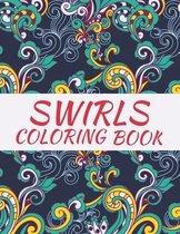 Swirls Coloring Book